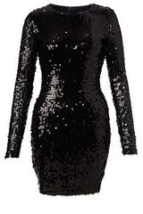 French Connection Lust Sequin Fitted Dress - Lyst
