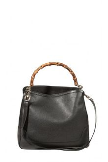 Gucci Diana Leather Bamboo Bag - Lyst