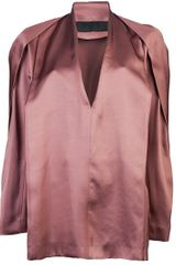 Haider Ackermann Long Sleeve Blouse - Lyst