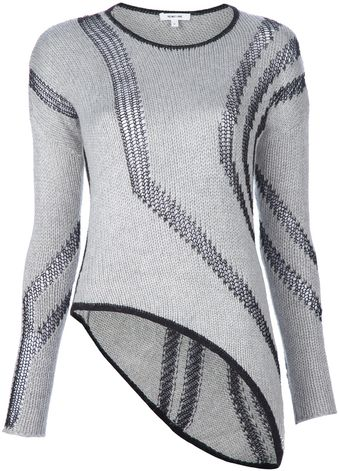 Helmut Lang Panel Sweater - Lyst