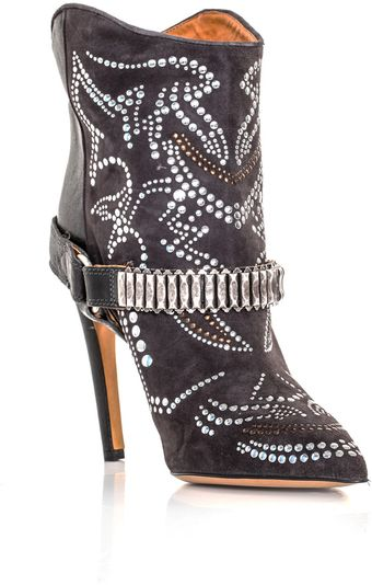 Isabel Marant Milwaukee Studded Boots - Lyst