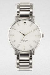 Kate Spade Gramacy Stainless Steel Watch - Lyst