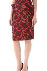 Marc By Marc Jacobs Clarice Flower Skirt - Lyst