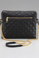 Marc Jacobs Quilted Crossbody Ipad Case - Lyst