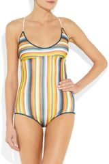 Missoni Sciarpa Crochetknit Swimsuit in Multicolor (multicolored) - Lyst