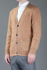 Msgm Cardigan in Brown for Men - Lyst