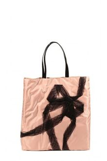 RED Valentino Nylon Bows Plumetis Tote Bag - Lyst