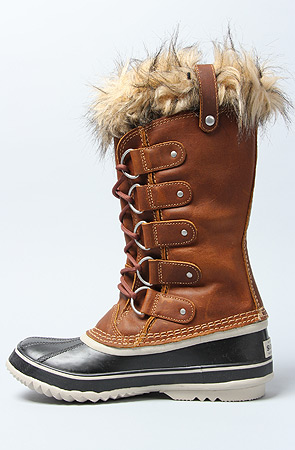 low priced lower price with excellent quality Lyst - Sorel The Joan Of Arctic Premium Boot in Cappucino in ...