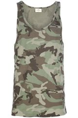 The White Briefs Camouflage Singlet - Lyst