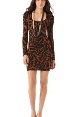 Torn By Ronny Kobo Callie Dress - Lyst