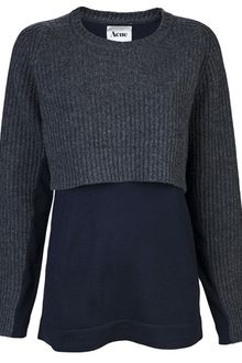 Acne Hurst Knit Sweater - Lyst