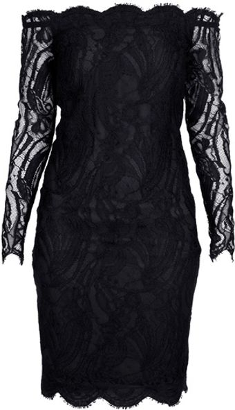 Emilio Pucci Lace Bustier Dress - Lyst