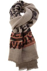 Etro Raw Edge Scarf