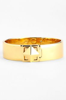 Kate Spade Locked in Stud Hinged Bangle - Lyst