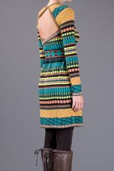 M Missoni Cutout Sweater Dress in Multicolor (multi) - Lyst