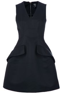 McQ by Alexander McQueen Structured A-Line Dress - Lyst