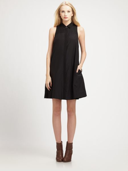 Rag & Bone London Dress in Black - Lyst