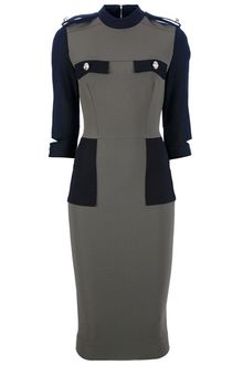 Victoria Beckham Fitted Dress - Lyst