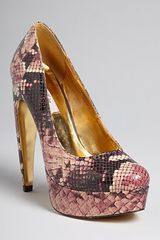 Ted Baker Platform Pumps Sawp High Heel - Lyst