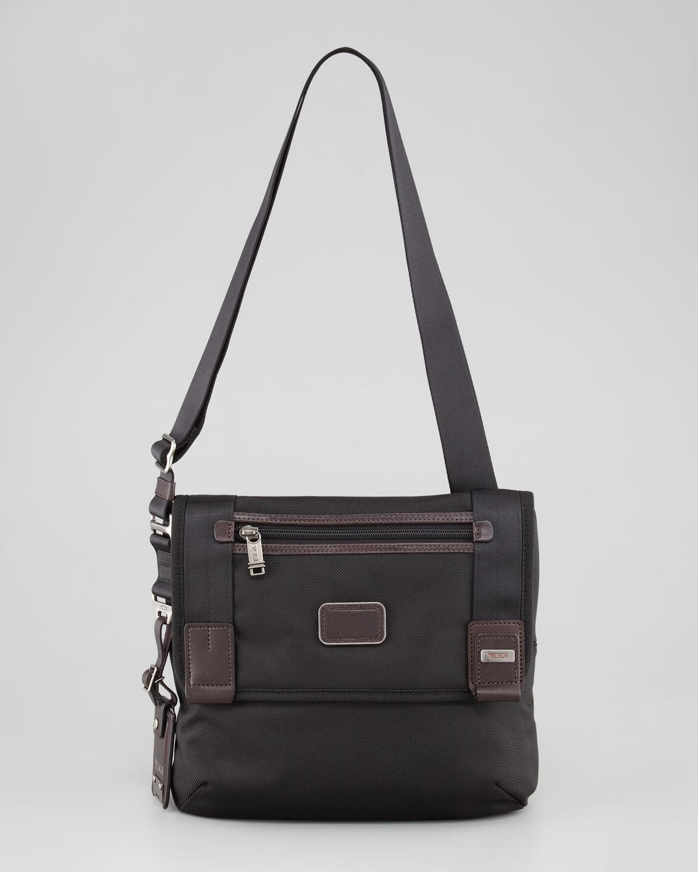 Lyst Tumi Hickory Mini Messenger Bag In Gray For Men