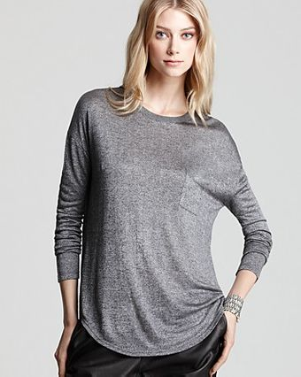 Vince Pocket Tee - Lyst