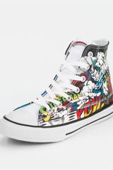 Converse Converse Chuck Taylor All Stars Dc Comics Superman Hi Junior - Lyst