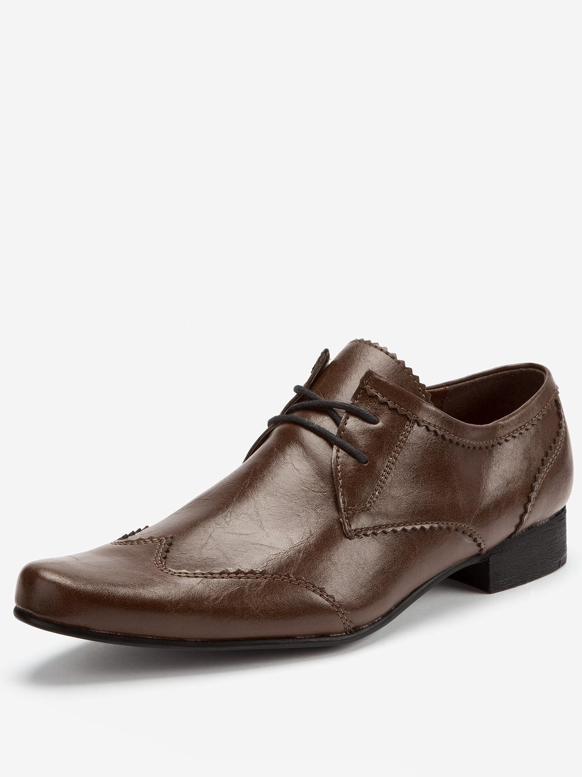 kg kurt geiger horton mens formal shoes in brown for