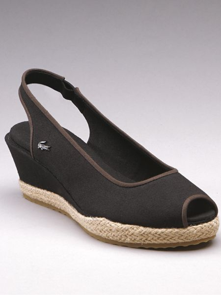 75e22b623a05 ... lacoste calavante wedge shoes ...