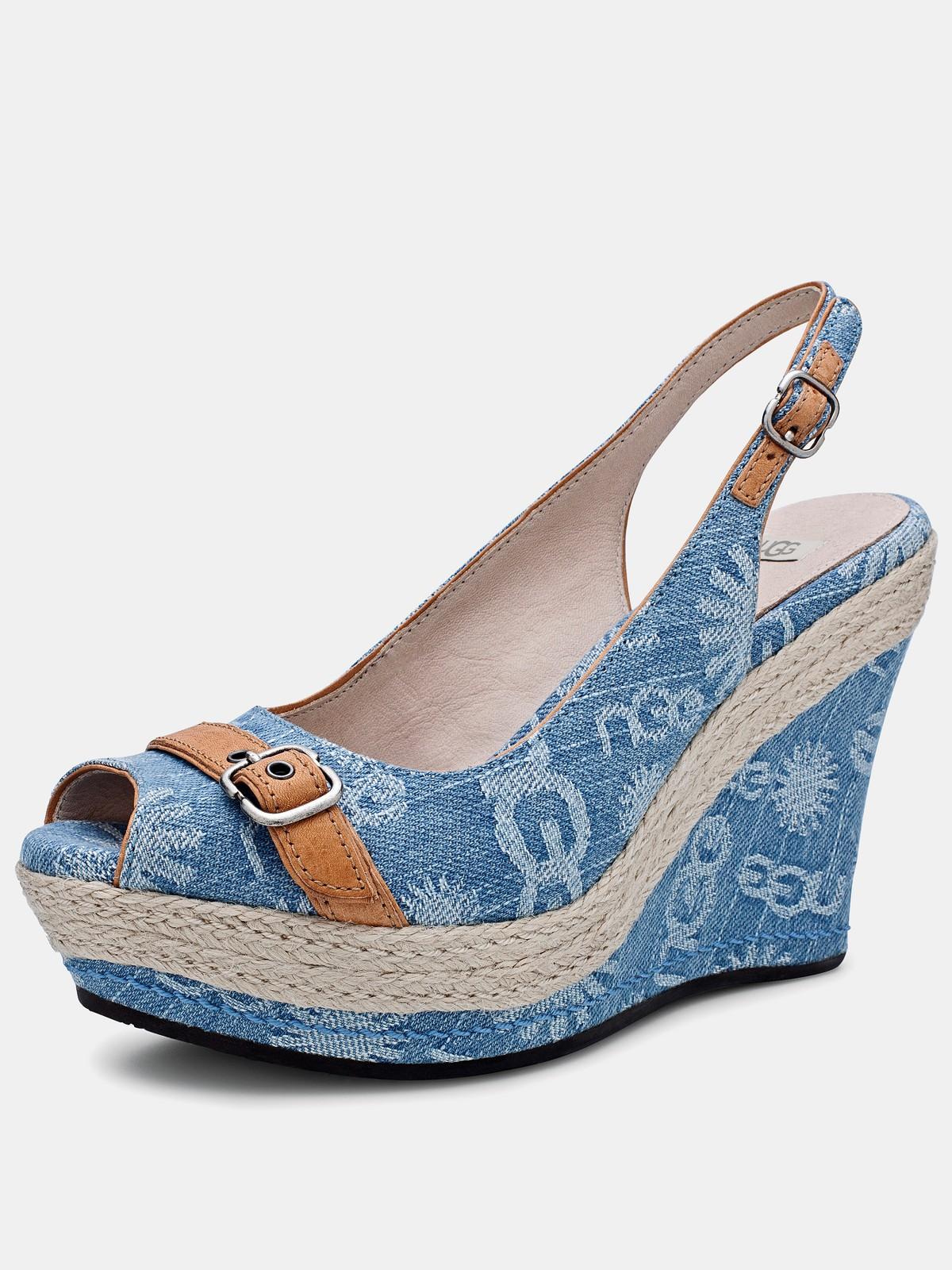 light blue ugg moccasins