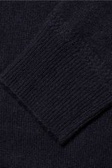 Burberry Brit Cashmere Crew Neck Sweater in Blue for Men - Lyst