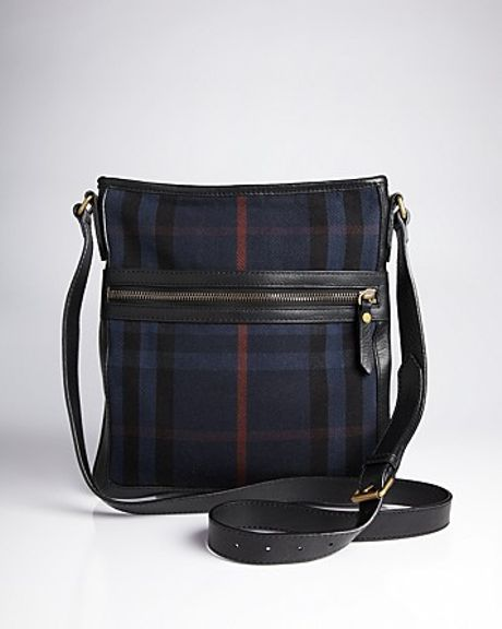 Burberry Turin Messenger Bag In Blue For Men Navy Lyst
