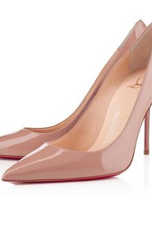 Christian Louboutin Decollete 554 - Lyst