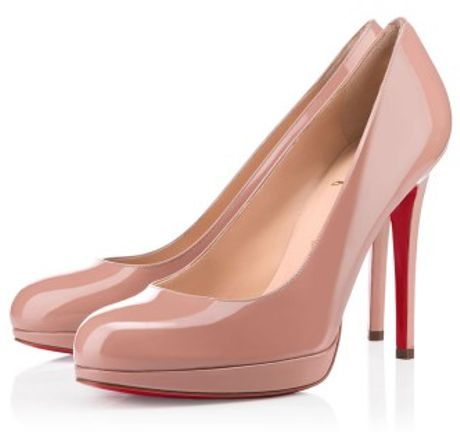 Christian Louboutin New Simple Pump in Pink - Lyst