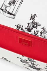 Christian Louboutin Newspaper Strass in White - Lyst