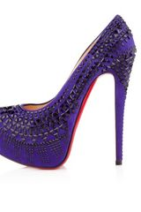 Christian Louboutin Decorapump in Purple (sky) - Lyst
