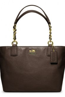 Coach Madison Leather Tote - Lyst