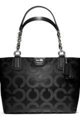 Coach Madison Op Art Sateen Tote - Lyst