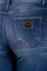 Dolce & Gabbana Slim Fit Jean in Blue - Lyst