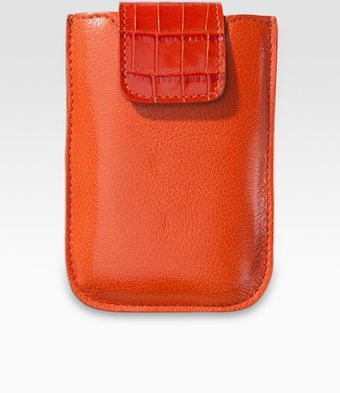 Graphic Image Leather Universal Phone Case - Lyst
