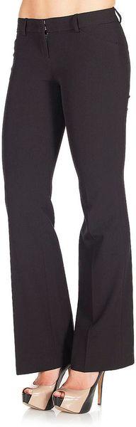 Jessica Simpson Classic Bootleg Pant Juniors in Black (jessica black)