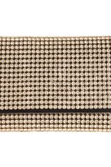 Jil Sander Crystal Clutch in Gold - Lyst