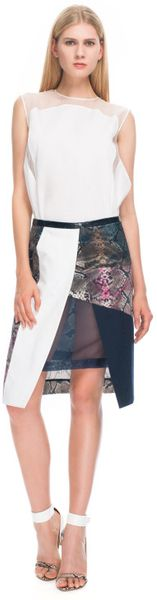 Preen  Christy Skirt in Multicolor (python multi print) - Lyst