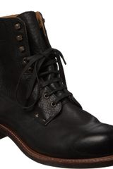 Rag & Bone Leather Lace-up Boot - Lyst