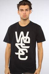 Wesc The Overlay Tee in Black - Lyst