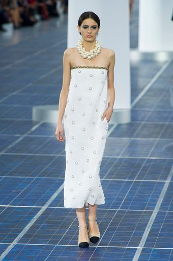 Chanel Spring 2013 Runway Look 8 - Lyst