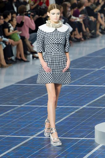 Chanel Spring 2013 Runway Look 39 - Lyst