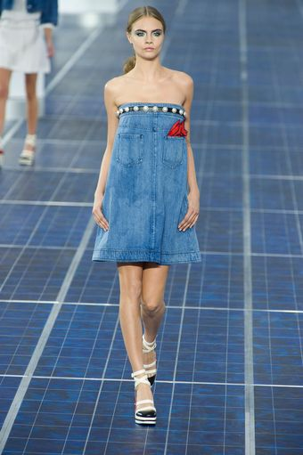 Chanel Spring 2013 Runway Look 46 - Lyst