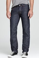 Diesel Jeans Larkee Straight Fit in Pure Dark Indigo - Lyst