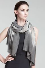 Giorgio Armani Abstract Ombre Stole - Lyst