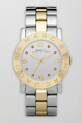 Marc By Marc Jacobs Amy Two-Tone Watch - Lyst